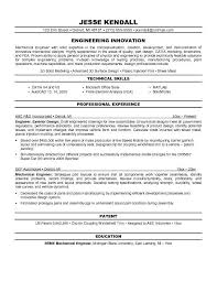 Domestic Engineer Resume Sample by Mechanical Design Engineer Resume Thebridgesummit Co