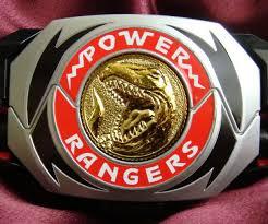 rangers morpher belt buckle