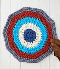 Free Crochet Patterns For Rugs Free Crochet Patterns How To Make A Crochet Rug Mollie Makes