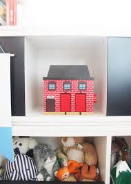 Land Of Nod Bookshelf Modern Boy Nursery With The Land Of Nodpencil Shavings Studio
