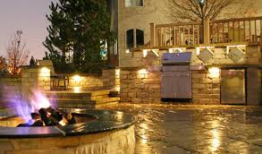 outdoor kitchen lights outdoor kitchens ideal for summer celebrations