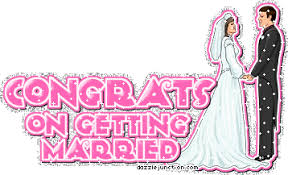 wedding wishes gif dazzle junction marriage congrats on getting married comment graphic