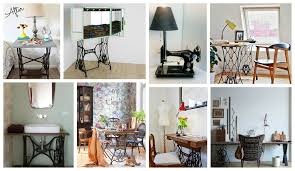 spectacular reused sewing machines in home decor that you shouldn
