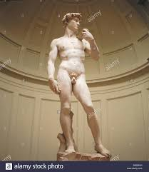David Sculpture Statue Of David In Museum Statue Of David Florence Italy Stock