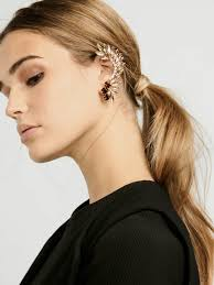 how do you wear ear cuffs 12 ways to wear ear cuffs