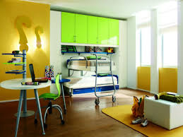 modern boys bedroom ideas bunk beds for kids with desks underneath