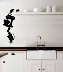 ideas for decorating kitchen walls decorative wall stickers for your house 43 pictures