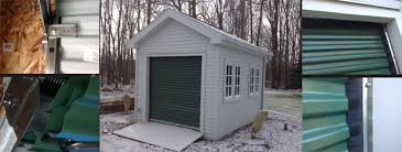 Overhead Shed Doors Commercial Garage Doors Trac Rite 944 Roll Up Doors For Buffalo