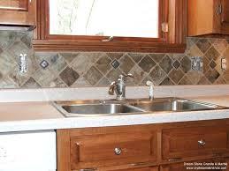 slate kitchen backsplash kitchen countertops and backsplash pictures slate kitchen backsplash
