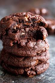best fudgy chocolate brownie cookies cafe delites