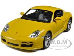 ebay porsche cayman welly 18008 porsche cayman s yellow 1 18 diecast car model ebay