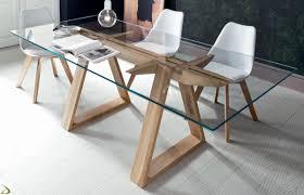 tavoli di cristallo sala da pranzo tavolo cristallo design idee di design per la casa gayy us