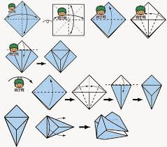 Origami Snake - 3d origami snake paper origami guide