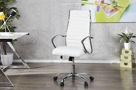 fauteuil bureau blanc fauteuil de bureau massari blanc