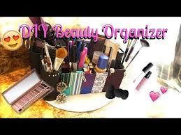 Makeup Desk Organizer Diy Makeup Desk Organizer