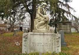 cemetery statues sad cemetery ephemeral new york