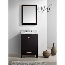 24 Bathroom Vanity With Top Virtu Usa Gs 50024 Wmsq Caroline Avenue 24 Single Square Sink