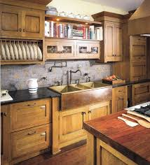 Rustic Kitchen Cabinet by Kitchen Craftsman Kitchen Lighting With Mission Style Cabinet