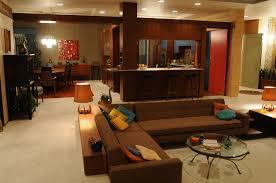 interior design elegant living and diningroom adopting japanese
