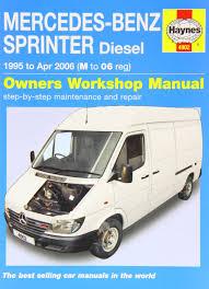 mercedes benz sprinter diesel 1995 to 2006 haynes service and