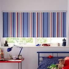 Best Roman Blinds Images On Pinterest Ranges Curtains And - Boys bedroom blinds