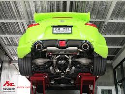 nissan green nissan z34 370z valvetronic exhaust system fi exhaust