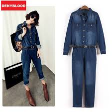 Jeans Jumpsuit For Womens Compare Prices On Jean Jumpsuits For Women Online Shopping Buy
