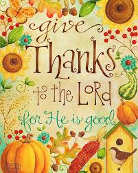 give thanks to the lord 8x10 print christian bible verse
