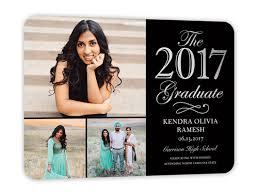 kindergarten graduation announcements multi photo graduation announcements shutterfly