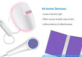 blue and red light therapy for acne do blue and red light devices work to clear acne acne org