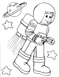 astronaut coloring pages for preschool astronauts coloring pages