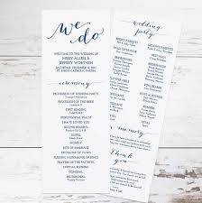 ceremony program template 37 best wedding program ideas images on wedding