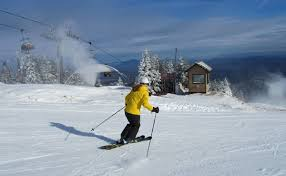 the most ski terrain for thanksgiving skiing is at okemo http