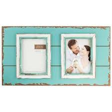 5 by 7 photo album turquoise white wood pallet collage frame 5 x 7 hobby
