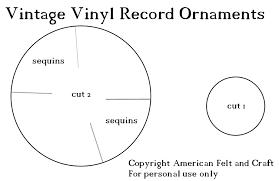 diy felt christmas ornaments u2013 vintage vinyl hipster week