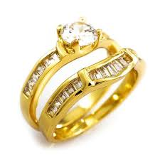 Gold Wedding Ring Sets by Engagement Rings For Women Gold Silver Gunmetal Rings U2013 Niv U0027s Bling