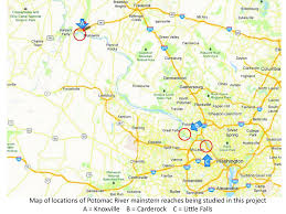 Potomac River On Map New Studies Initiated By The Us Geological Surveyeffects Of