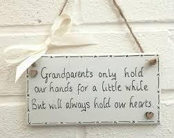 grandparent plaques plaque etsy