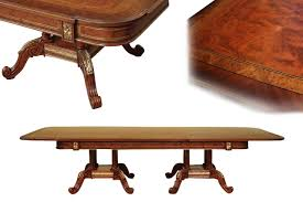 mahogany dining table mahogany and walnut dining room table with self storing leaves