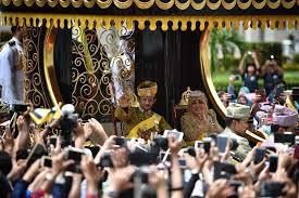 sultan hassanal bolkiah wives brunei marks golden jubilee of sultan hassanal bolkiah se asia