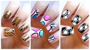 Nail Art Design At Home Home Design - At home nail art designs for beginners