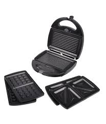 Best Sandwich Toasters With Removable Plates Review Morphy Richards 3 In 1 Toast Waffle Grill Sandwich Maker