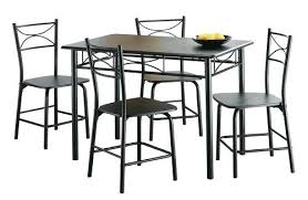 cosco 5 piece card table set black extraordinary dining tables fascinating walmart at table set