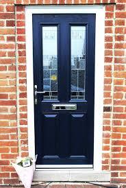 Exterior Doors Commercial Front Door Glass Aluminium Front Doors Entry Choosing