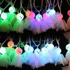 halloween ghost string lights hiyill solar outdoor led string lights solar powered waterproof