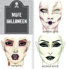 make up for ever halloween face charts beauty parler