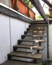 Wooden Front Stairs Design Ideas Outside Wooden Steps External Staircase Design Exterior Modern