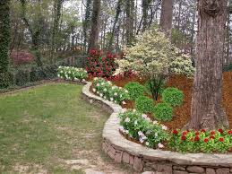 Decorative Landscaping Retaining Wall And Fence Landscape Traditional With Fence
