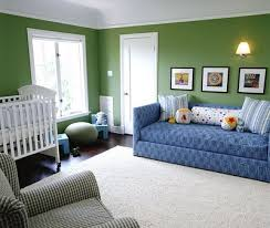 hudson baby design nursery of the week blue and green with a
