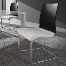 Esszimmerstuhl Freischwinger Holz 2er Set Schwingstuhl Holz Weiß Esszimmerstuhl Freischwinger Stühle